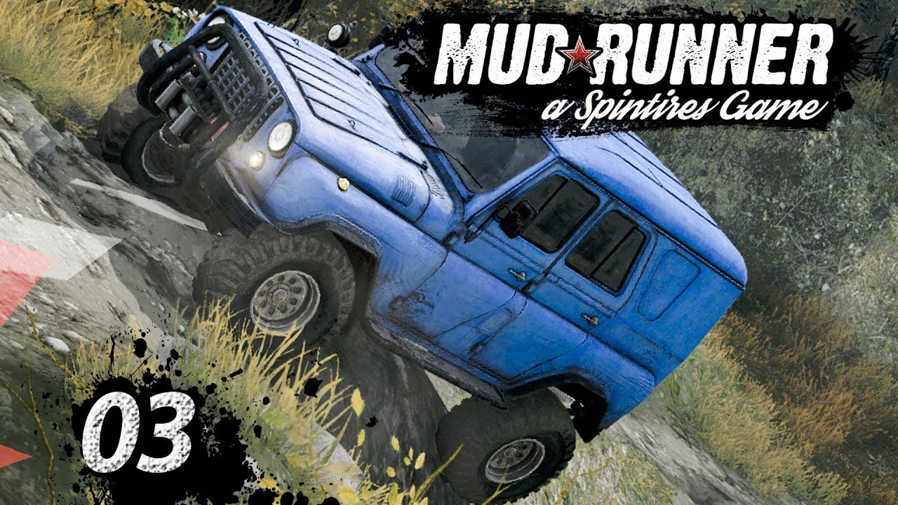 Spintires MudRunner | SEILWINDE, CRASH und STUNTS ▻ #03 Off-Road ...