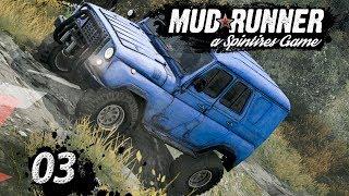 Spintires MudRunner | SEILWINDE, CRASH und STUNTS ► #03 Off-Road Simulator First Look deutsch german