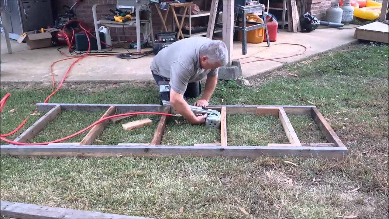 Building a freestanding Scaffold for