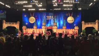 2015 UDA College Nationals Florida State University Golden Girls