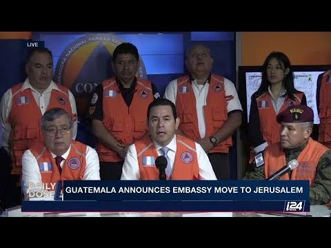 Guatemala has announced they move their embassy to Jerusalem.