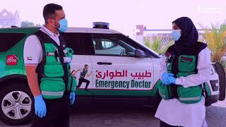 مسعفون ومتطوعون في دبي يروون مشاهد انسانية في مواجهة