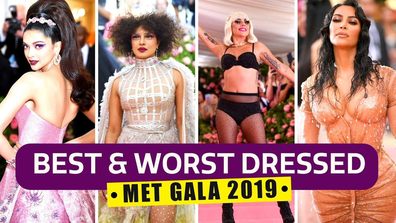 Priyanka Chopra Jonas, Deepika Padukone, Lady Gaga: Best and Worst looks from MET Gala 2019
