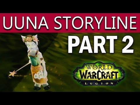 World Of Warcraft Legion Patch 7.3.5 UUNA SECRET PET TUTORIAL - Uuna Scenario & Storyline - Part 2