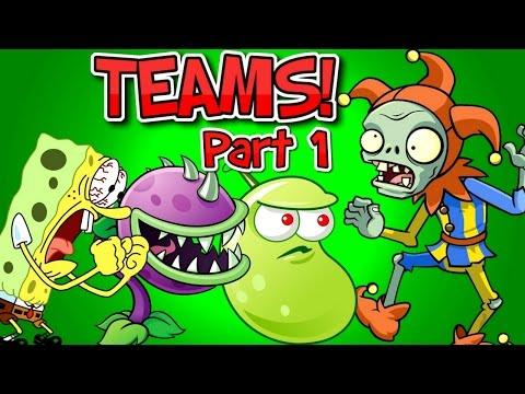 Plants vs. Zombies 2 JESTER ZOMBIE vs Team Plants PART 1 ✔