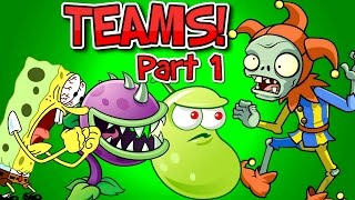 Plants vs. Zombies 2 JESTER ZOMBIE vs Team Plants PART 1 ✔(Plants vs. Zombies 2 it's about time: Team Plants vs Jester Zombie Part 1. This is the First edition of the new video series Plants vs Zombies 2 Gameplay teams., 2016-10-15T11:05:51.000Z)