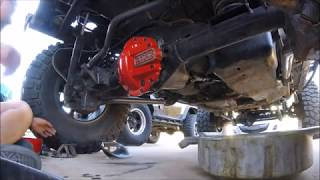 I am trashing the Rough Country diff guard and installing the ARB d...
