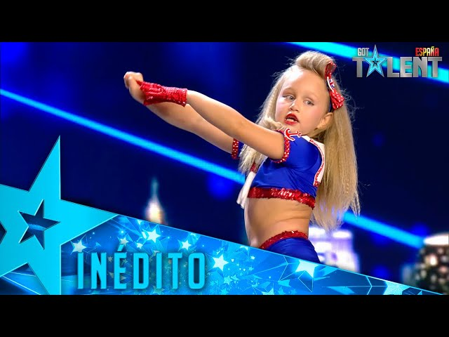 Esta PEQUEÑA BAILARINA no te dejará indiferente con su COREO   Inéditos   Got Talent España 2021