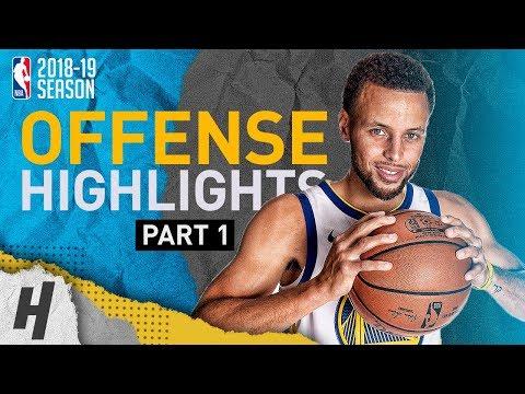 Stephen Curry BEST Offense Highlights from 2018-19 NBA Season! MVP Run (Part 1)