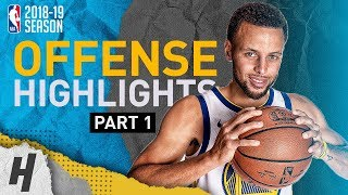 Stephen Curry BEST Offense Highlights from 2018-19 NBA Season! MVP Run (Part 1)