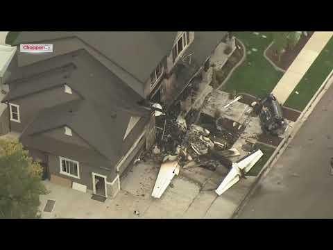 Utah Man Crashes Plane Into His Own House Youtube