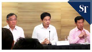 Minister for National Development Lawrence Wong elaborates on enhanced travel measures