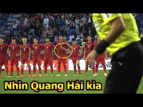 DKP loạt Penalty Đặng Văn Lâm ĐT Việt Nam VS Jordan với cảm xúc độc của Quang Hải , Bùi Tiến Dũng