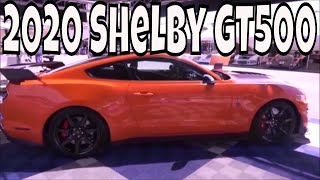 2020 Shelby GT500 - The Specs