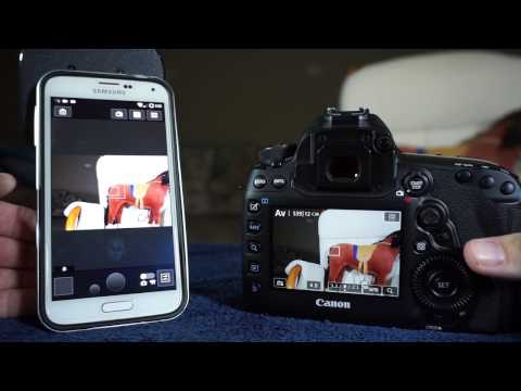Canon 5D Mark IV - WiFi to Phone or Laptop