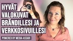 Kuinka valita valokuvat brändillesi ja verkkosivuillesi