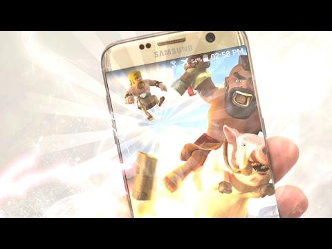 Wallpapers En HD De Clash Royal Y Clash Of Clans Para Android 2017//TutosCarlos//