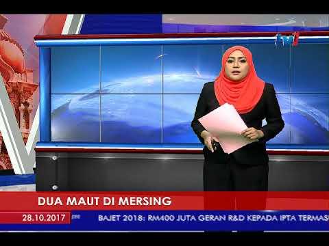 KEMALANGAN: 2 MAUT, 2 CEDERA DI MERSING [28 OKT 2017]