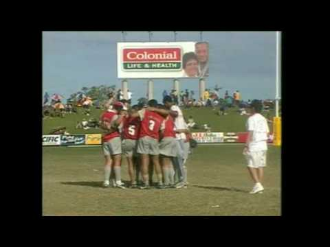 South Pacific Games 2003 Rugby 7s Guam vs New Caledonia M27