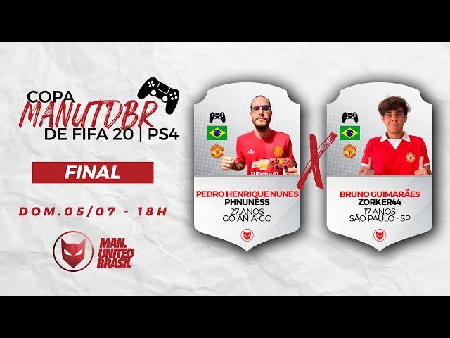 Copa ManUtdBR - FIFA PS4 | FINAL | phnuness x Zorker 44