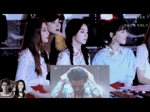 161226 RED VELVET REACT TO EXO - MONSTER AND ONE AND ONLY