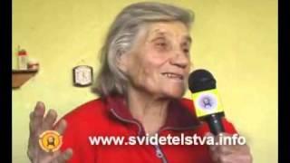 Свидетелство на Стоянка Карушкова - бивша партизанка