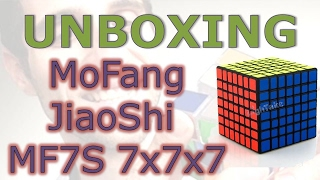 mofang jiaoshi mf7s 7x7 unboxing