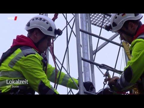 Kletterausrüstung Bonn : Industriekletterer bonn wdr reportage mit budzinski einsatz am