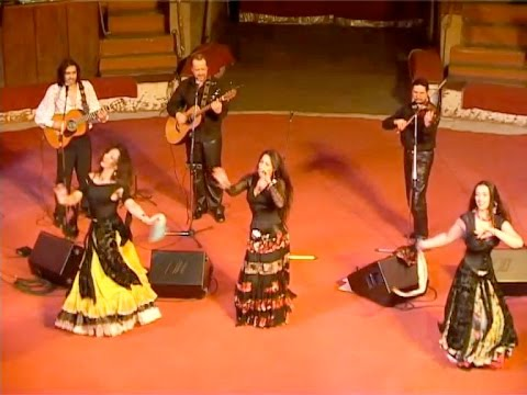 Леонсия Эрденко \u0026 группа GypsyRoad - концерт в Пензе, 2006, 1 ОТДЕЛЕНИЕ