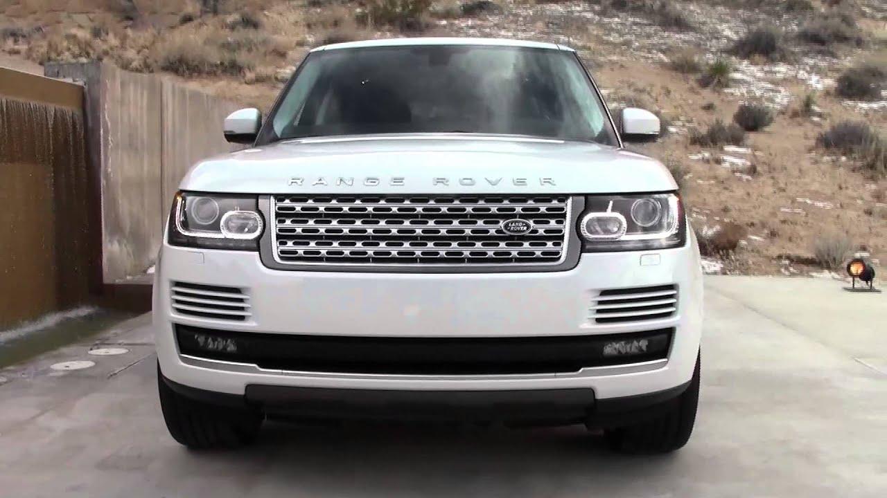 2013 Land Rover Range Rover Luxury SUV Walkaround