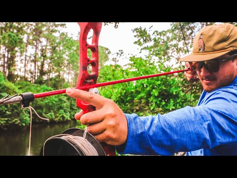 First Time BowFishing (Catch And Cook)+ Testing Cheap Bowfishing Setup