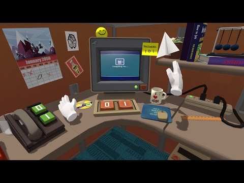 Job Simulator: Making VR Games for Oculus Touch and HTC Vive