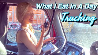 What i eat iฑ a day | Trucking Vlogs