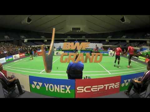 Yonex US Open 2017 | Badminton SF M4-MD | Lu/Yang vs Att/Red
