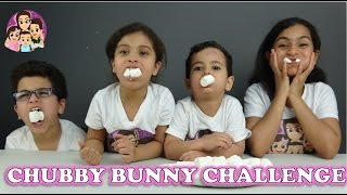 CHUBBY BUNNY CHALLENGE: Challenges For Kids/ 4 Kids Toy Review