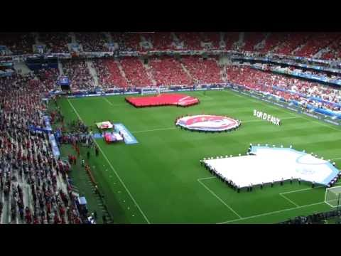 UEFA EURO 2016 - Wales Slovakia - Slovakia National Anthem!!!