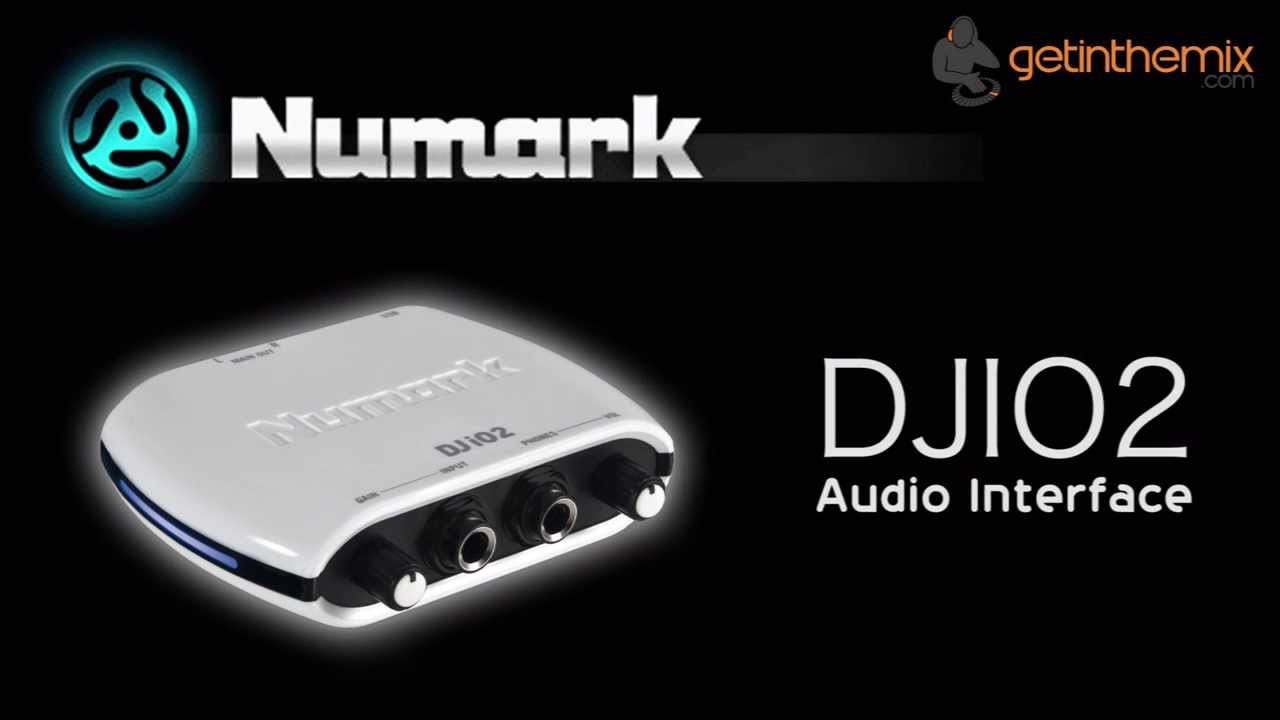 Numark DJIO2 - DJ Audio Interface