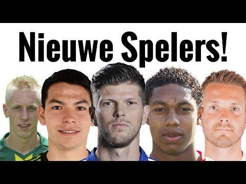 Nieuwe Gezichten In De Eredivisie!