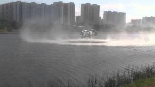 Пожарные вертолеты в Москве