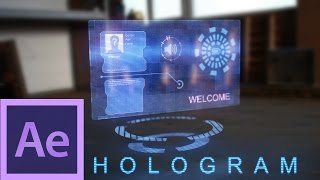 After Effects Tutorial: Hologram