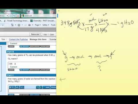 Mastering chemistry homework answers