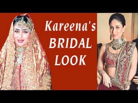 Kareena Kapoor Saif Ali Khans WEDDING RECEPTION LOOK