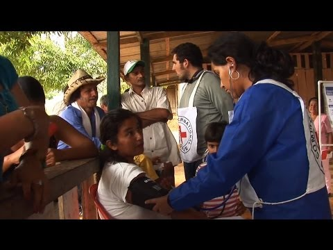 Colombia: River boat health care