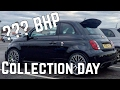 Abarth 500 - Turbo Upgrade Abarth 595 Collection Day