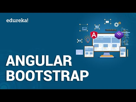 Angular Bootstrap Tutorial | Building Websites with Angular Bootstrap | Angular Training | Edureka