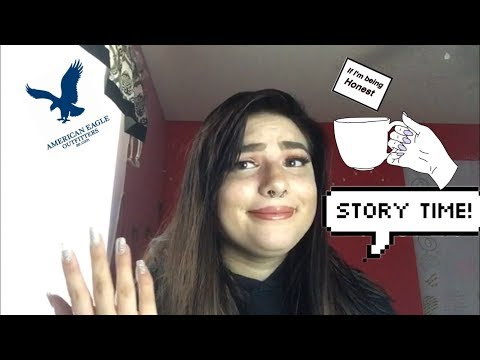 STORY TIME: THE TEA ON WORKING AT AMERICAN EAGLE 🦅 ||Lindz Dawn