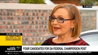 DA announces 4 candidates vying for the Federal Council chair post