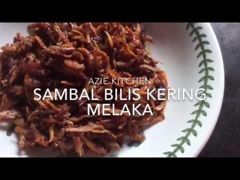 Sambal Ikan Bilis Kering Melaka Youtube