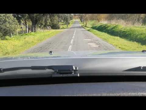 EN 383 entre o Torrão e Vila Nova da Baronia