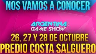NOS VAMOS A CONOCER!! Argentina Game Show - DimiTriXx